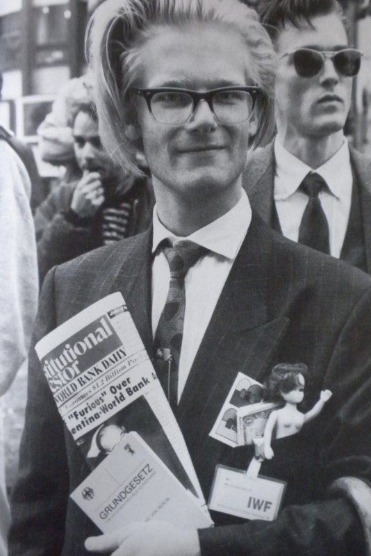 Protester, IMF-World Bank Protests, September 1977